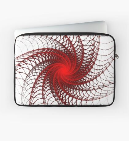 Red Propeller Planet Laptop Sleeve