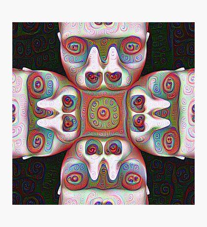 #DeepDream Masks 5x5K v1455625554 Photographic Print