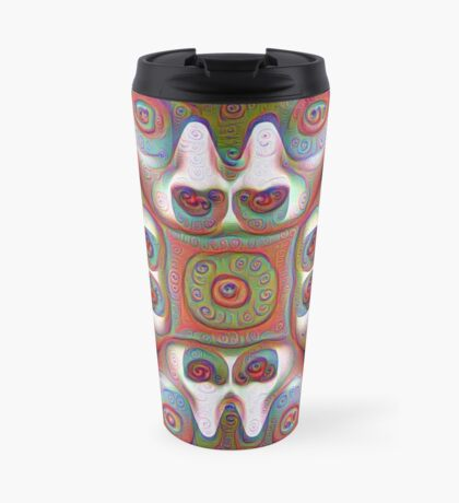#DeepDream Masks 5x5K v1455625554 Travel Mug