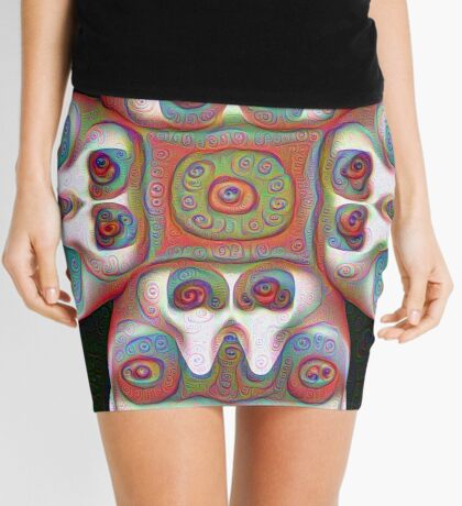 #DeepDream Masks 5x5K v1455625554 Mini Skirt