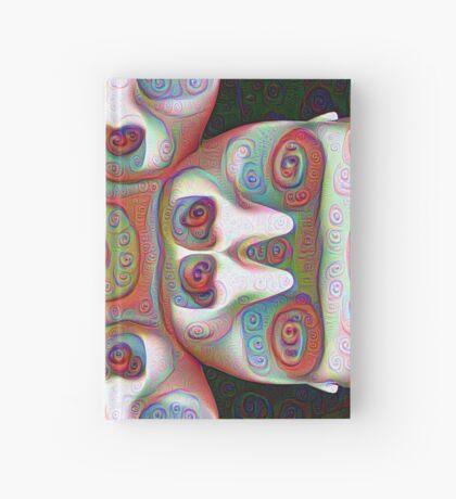 #DeepDream Masks 5x5K v1455625554 Hardcover Journal
