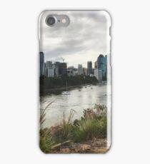 Brisbane city and river, Qld Australia iPhone Case/Skin