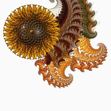 Fractals & Sunflower by RainbowDesign