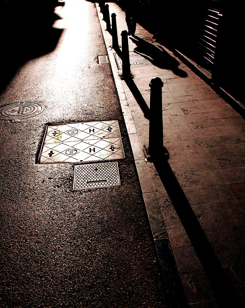 Student Shadows Seville by ragman