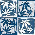 Blueprint Leaves by VanOostrum