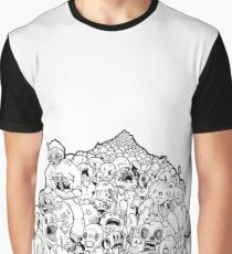 Zombie mob Graphic T-Shirt