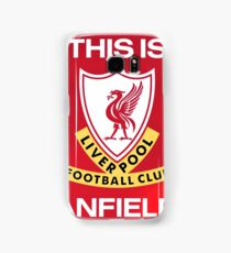 Liverpool - This Is Anfield sign Samsung Galaxy Case/Skin