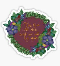 Supportive flower Sticker