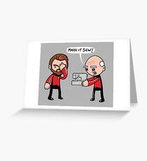 Make it Sew Greeting Card
