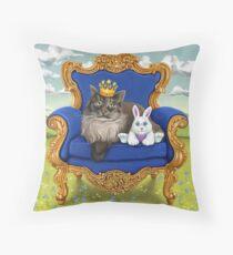 Queen Gwen Throw Pillow