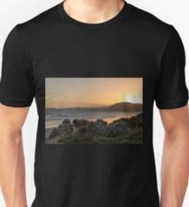 Sunset from the Great Ocean Road, Victoria, Australia Unisex T-Shirt