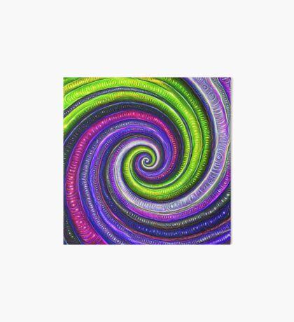 Source #DeepDream #Art Art Board Print