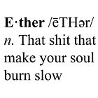 Ether Definition by DanielPlease