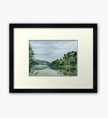 Reflections of Nova Scotia Framed Print