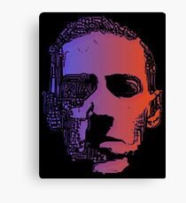 Glowing Lovecraft Canvas Print