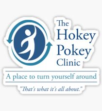 The Hokey Pokey Clinic Sticker