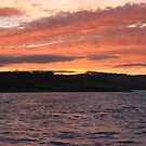 Sunset over Montrose Basin by Sheilz