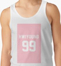 SF9 · Hwiyoung · Pink Men's Tank Top