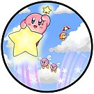 Kirby of the Stars by alyssadyerart