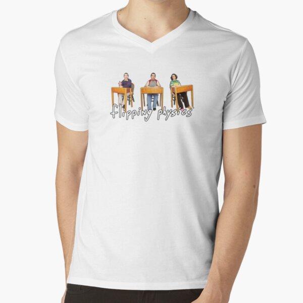 Flipping Physics - Billy, Bobby & Bo V-Neck T-Shirt