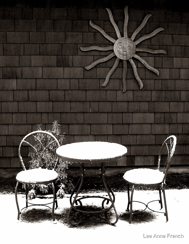 Table for Two by Lee Anne French