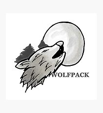 WOLFPACK Photographic Print