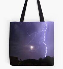 Lunar Strike Tote Bag