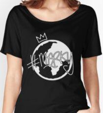 #MERKY GLOBE - STORMZY BLACK Women's Relaxed Fit T-Shirt