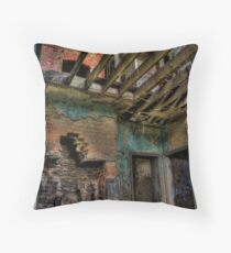 Upstairs, Downstairs Throw Pillow