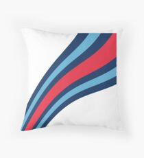 Williams F1 Martini Stripes - Formula One Throw Pillow