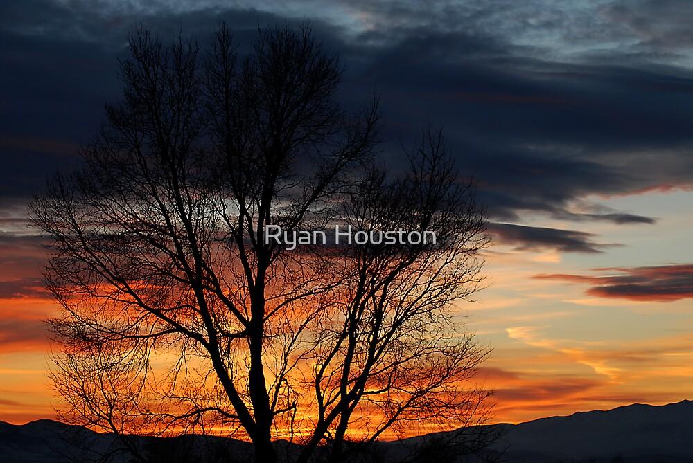 Winter Sunset by Ryan Houston
