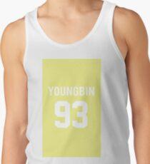 SF9 · Youngbin · Yellow Men's Tank Top