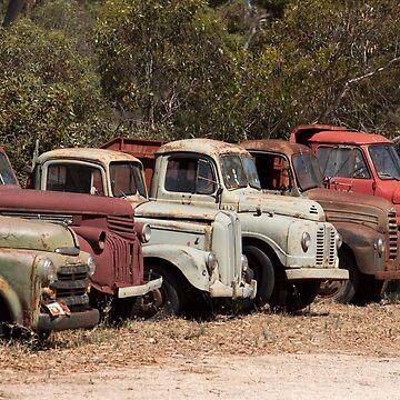 Old Trucks, South Australia by LisaRoberts