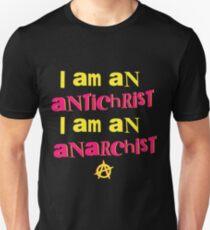 Sex Pistols - Anarchist Antichrist punk rock music  T-Shirt