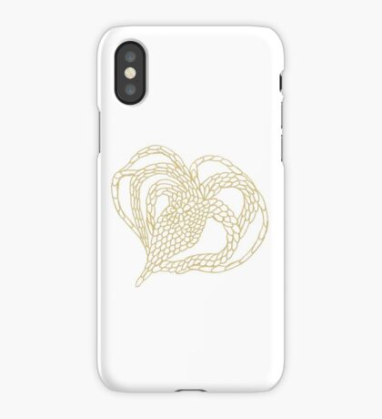 Chained Heart Tee iPhone Case/Skin
