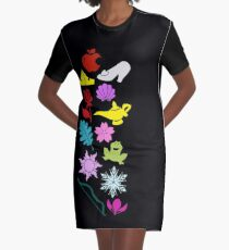 Iconic Princesses Graphic T-Shirt Dress
