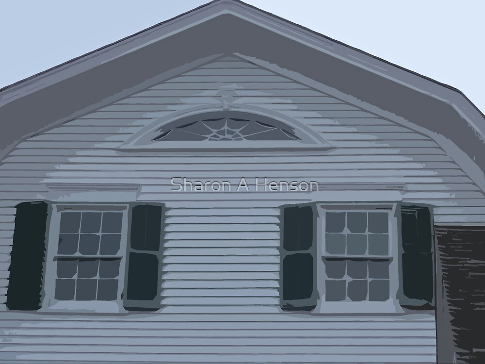 WHITE CLAPBOARD by Sharon A. Henson