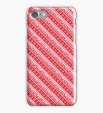 Winter holidays pattern iPhone Case/Skin