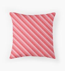 Winter holidays pattern Throw Pillow