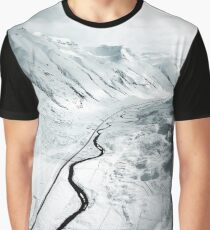 iceland aerial view Graphic T-Shirt