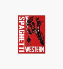 Spaghetti Western Art Board