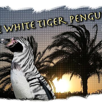 The White Tiger Penguin - Designs By Adz Riddell by adzriddell