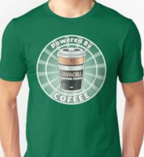 Powered by Coffee Unisex T-Shirt