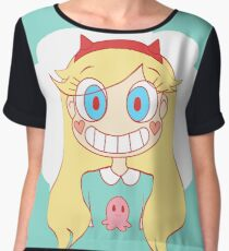star vs the forces of evil Chiffon Top