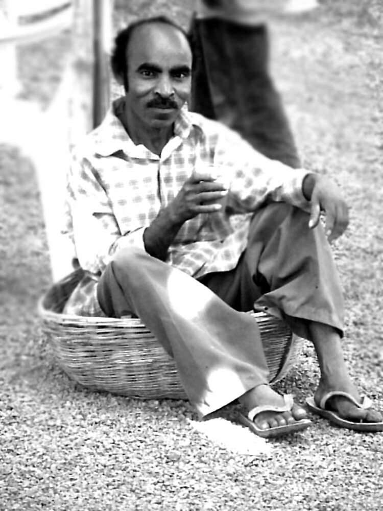 Indian in a basket by Jayesh Patel