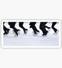 Synchro Skating Sticker