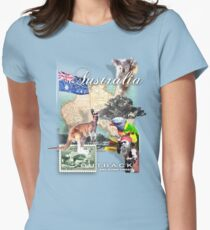roo Womens Fitted T-Shirt