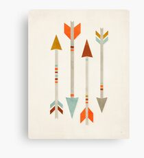 Four Arrows Canvas Print