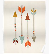 Four Arrows Poster