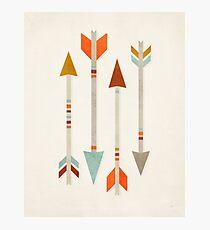 Four Arrows Photographic Print